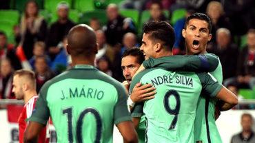 Cristiano Ronaldo, decisivo en victoria de Portugal en Hungría