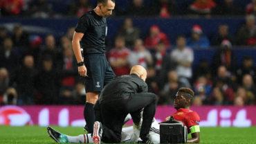 Pogba estaría ausente por varias semanas con el Manchester United