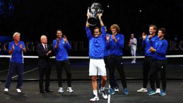Federer conquista la Laver Cup en su primera edición
