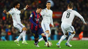 El clásico Español entre Real Madrid-Barcelona se jugará el 23 de Diciembre