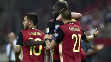 Bélgica, primer europeo que clasifica a Rusia 2018