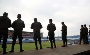 Seguridad total para en juego, Honduras-Estados Unidos
