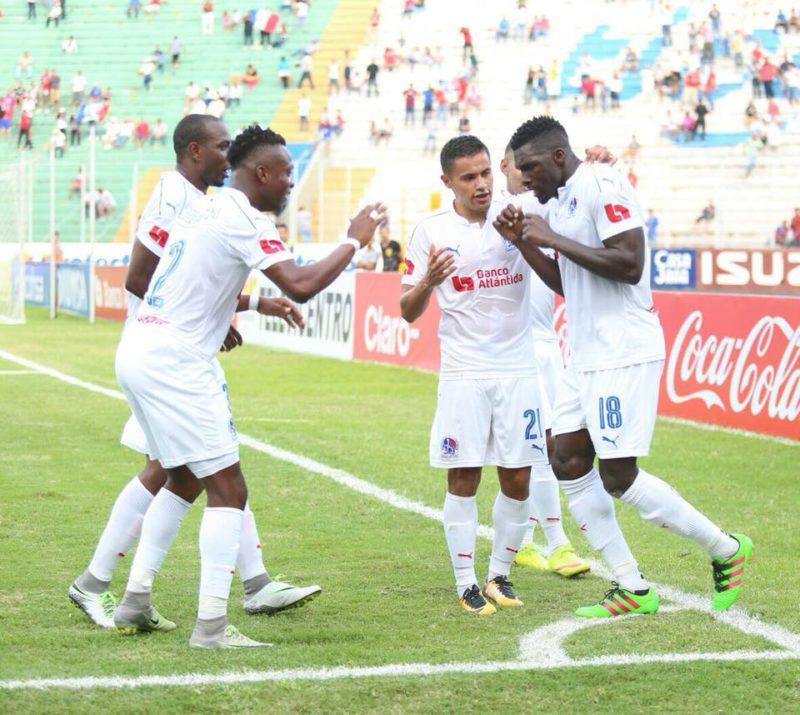 Olimpia sin problema golea en casa al Honduras Progreso