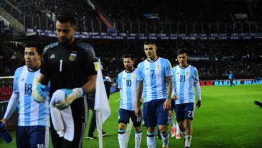 Argentina sigue en zona de repechaje en las Eliminatorias Rumbo al Mundial de Rusia 2018