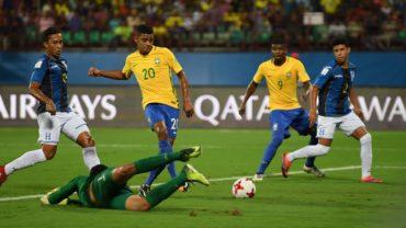 """La """"H"""" Sub-17 quedó eliminada del Mundial de India al caer ante Brasil"""