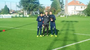El hondureño Andy Najar ya entrena con nuevamente con el Anderlecht