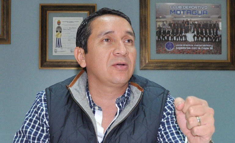 """Juan Carlos Suazo: """"Pinto sabe que en Motagua lo hemos apoyado a muerte"""""""