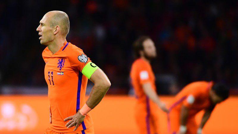 Holanda se quedó a cinco goles del 'milagro' y no tendrá Mundial