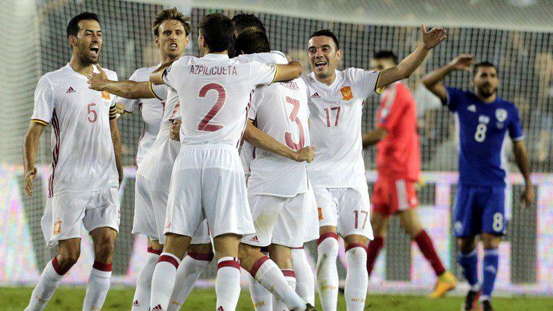 España terminó invicta la Eliminatoria Mundialista