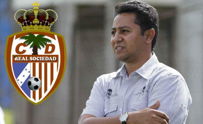 Douglas Munguía es nuevo entrenador de la Real Sociedad