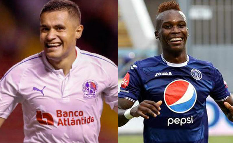 Roger Rojas y Rubilio Castillo son los goleadores históricos activos en la Liga Nacional