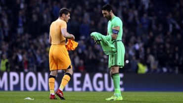 """Casillas a Buffon: """"Quiero verte como lo que eres, una leyenda"""""""