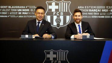 ¡Se acabaron las especulaciones! Messi firmó renovación con Barça