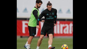 Bale se reincorporó a los entrenamientos con el Real Madrid