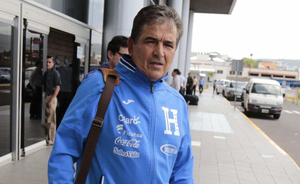 """Jorge Luis Pinto: """"Se me fue de las manos la clasificación, estoy golpeado"""""""