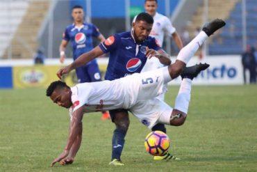 Olimpia-Motagua a su primer pulso en la semifinal del Torneo Apertura 2017