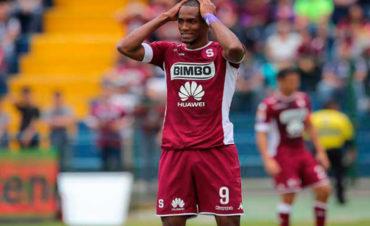 El hondureño, Jerry Bengtson no pudo llegar a la final con el Saprissa