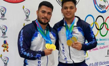 Hondureños rompen récord en Levantamiento de Pesas en Juegos Deportivos Centroamericanos