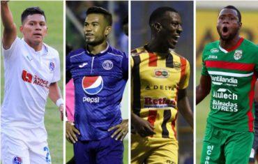 Semifinales, Torneo Apertura 2017: Motagua-Olimpia y Marathón-Real España