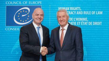 Colaboración entre la FIFA y el Consejo de Europa