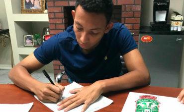 Allan Banegas renovó su contrato con el Marathón