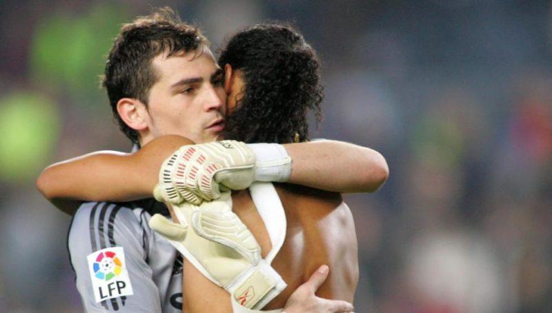 "Iker Casillas a Ronaldinho: ""Me tocó sufrirte pero también te disfruté"""