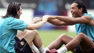 """Messi a Ronaldinho: """"El futbol no se olvidará de tu sonrisa jamás"""""""