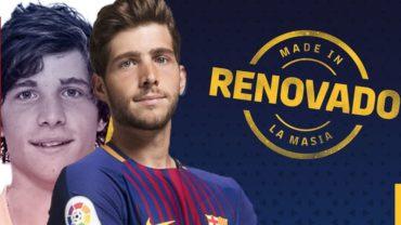 Sergi Roberto renueva con el Barcelona por tres años