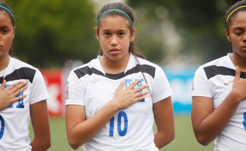 Hondureña, Elexa Bahr jugará ahora para la selección de Colombia