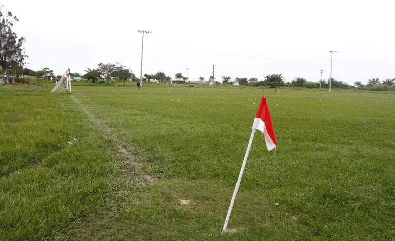 El campo de La Curva aún recuerda los partidos de Juan Carlos García