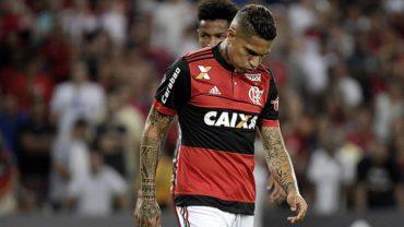 Flamengo suspende temporalmente contrato a Paolo Guerrero
