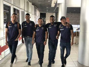 Motagua viajó rumbo a Edinburg, Texas para enfrentar al Xolos de Tijuana