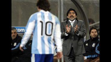 """Maradona: """"Con Messi prendido hay 60 por ciento de chances de ser campeón del Mundo"""""""