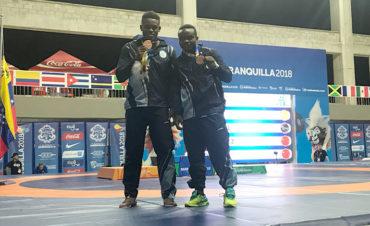 Luis Barrios y Gino Ávila se despiden con medalla de bronce