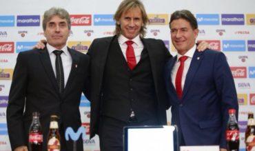 Ricardo Gareca renueva su contrato con Perú