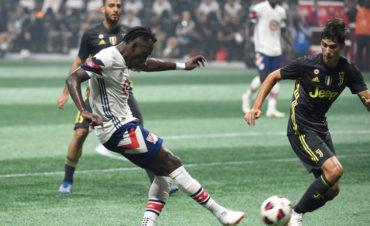 Alberth Elis tuvo una destacada participación en partido de la Estrellas de la MLS