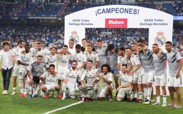 Real Madrid vence al Milán en el trofeo Santiago Bernabéu
