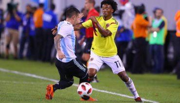 Colombia vs Argentina empataron 0-0 en partido de preparación