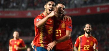 España vence a la subcampeona Croacia