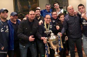 A lo grande celebró la dirigencia azul su título 16