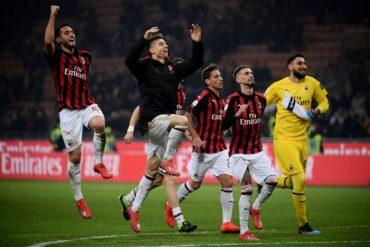 Milán suma tercer triunfo seguido en Serie A italiana con 3-0