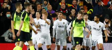 El Valencia elimina al Celtic de Emilio Izaguirre en la Europa League