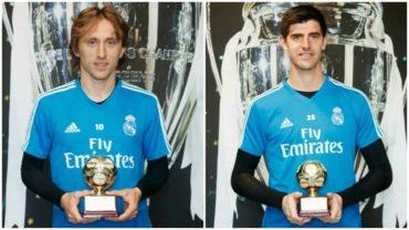 La IFFHS premia a Modric y Courtois por su gran 2018