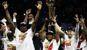 Toronto Raptors se coronan campeones de la NBA