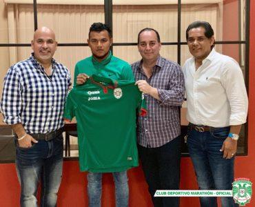 Mario Martínez es nuevo jugador del Marathón