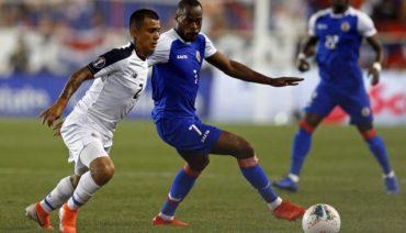 Haití derrotó 2-1 a Costa Rica en el ultimo juego de fase de grupos