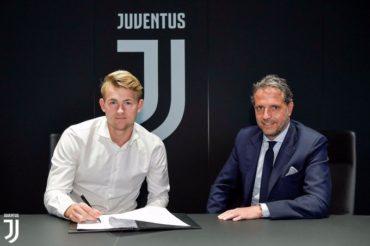 OFICIAL: De Ligt ya es jugador de la Juventus de Turin (VÍDEO)