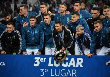 Argentina vence a Chile por el tercer lugar de la Copa América