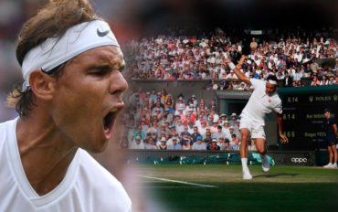 Roger Federer y Rafael Nadal se enfrentaran en la semifinal de Wimbledon