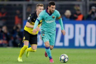 Barcelona empata ante el Borussia Dortmund (0-0) en la Liga de Campeones